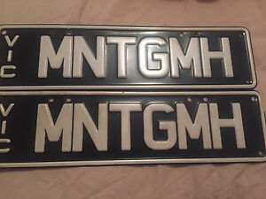 Number plates (MNTGMH) Springvale South Greater Dandenong Preview
