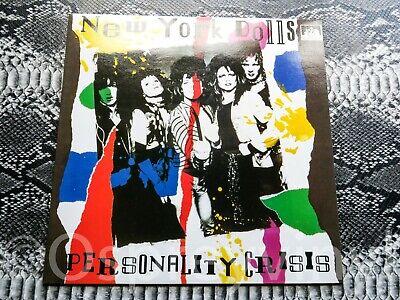 "New York Dolls – Personality Crisis Unplayed New 12"" vinyl"