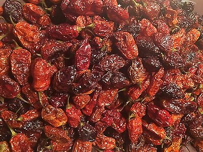 Organic Datil-Habanero Hybrid Heirloom Dried Hot Chili Pepper Florida Seed Pods  for sale  Saint Johns