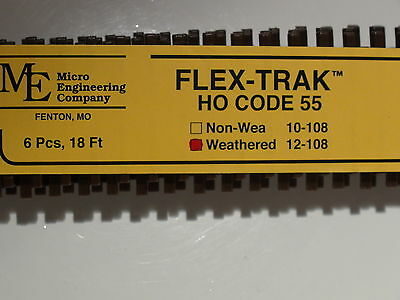 HO Micro-Engineering #12-108 HO-SCALE Code 55 Flex Track WEA. -
