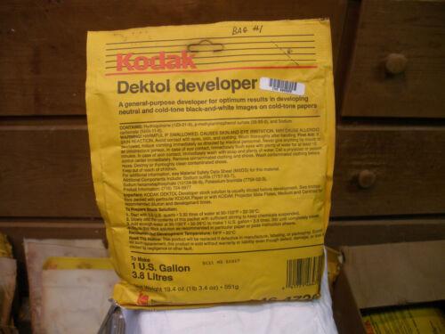 4 Bags KODAK Dektol Paper Developer