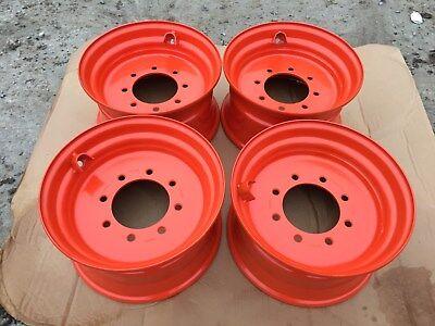 4 - New 16.5x8.25x8 Skid Steer Wheelrim For Bobcat S175 S185 S205