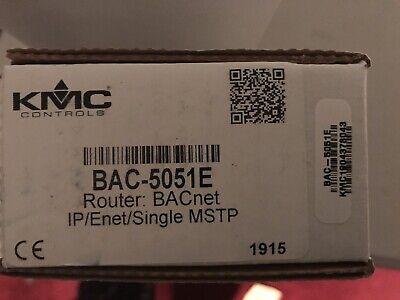 Kmc Controls Bac-5051e Bacnet Router Ipenetsingle Mstp - New