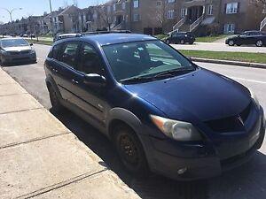 Pontiac Vibe 2004 (=Toyota Matrix) 232000 kilos