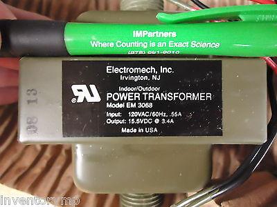 Electromech Em3068 Power Transformer. Brand New