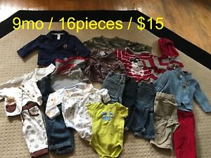 Baby boy clothes 9mo