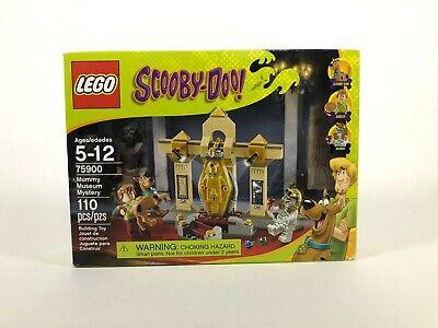 LEGO Scooby Doo 75900 Mummy Museum Mystery - NEW - SEALED - RETIRED - SHELF WEAR