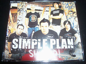 Simple-Plan-Shut-Up-Australian-3-Track-CD-Single
