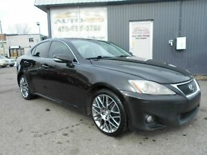 Lexus IS 250 TRACTION INTÉGRALE 2010 *** TOIT, CUIR, MAGS,A/C,NA
