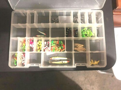 Lot of 120 Small Jig hooks with 4 small rapallas