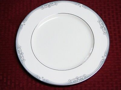 Noritake Green Plate - Noritake COUSTEAU Creamy White w/ Green Scroll Decor 10 5/8