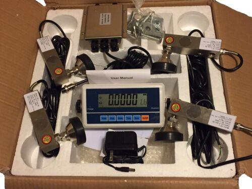 10,000lb  Floor Scale Kit Repair kit with Indicator NIB