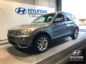 BMW X3 28i X-DRIVE + MAGS + CUIR + BLUETOOTH + WOW !