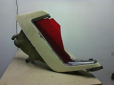 1969 Cadillac Eldorado  LH (driver) tail light  OEM  lens broken  OEM