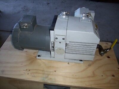 Leybold Trivac D16b Rotary Vane Dual Stage Mechanical Vacuum Pump Af16-25 Filter