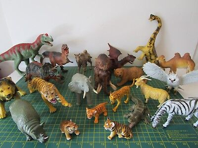 ELC AAA ANIMAL FIGURES Hard Plastic Toys Multi Variation Listing