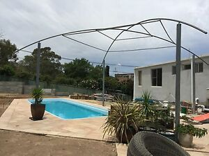 Huge Free Standing Gal Steel / with new Shade cloth Structure Garran Woden Valley Preview