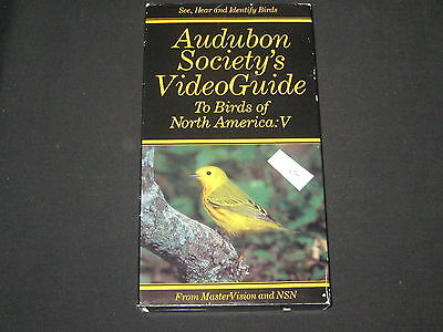 Audubon Society's Video Guide to Birds of North America #5    VHS Video