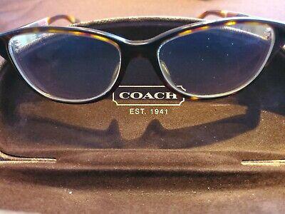 Coach Women's Perscription Glasses Brown Tortoise (Perscription Glasses)