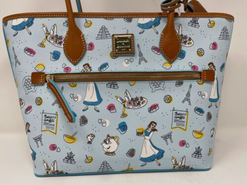 Disney Dooney & and Bourke EPCOT Food Wine Festival 2021 Tote Belle Purse NWT