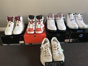 Nike Air Jordan 5 6 11 Adidas93/16 US10-US10.5 NEGOTIABLE