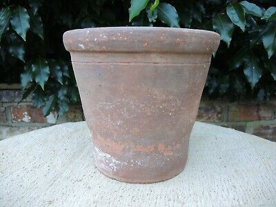 Hand Thrown Old Vintage Terracotta Plant Pot 9.5
