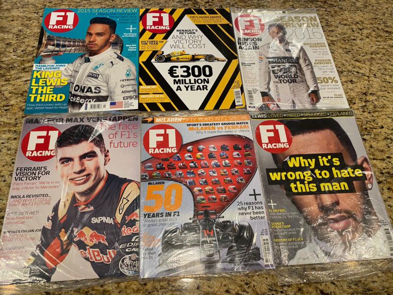 F1 Racing magazine 2016 - 12 Issues