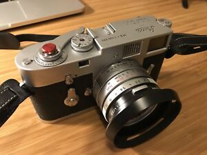 Leica M2 with Leitz 35mm summicron f2 asph