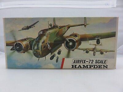 Airfix-72 HAMPDEN 1/72 Scale Plastic Model Kit No. 491 UNBUILT