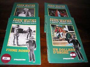 JOHN WAYNE L EROE AMERICANO - 37 FASCICOLETTI dei film - De Agostini - Italia - JOHN WAYNE L EROE AMERICANO - 37 FASCICOLETTI dei film - De Agostini - Italia