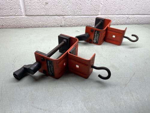 """BLACK & DECKER 3"""" Portable Vise Clamp Bench Light Duty Lot of 2 Made in USA"""