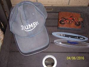 Triumph cap, pen and wallet. Waterford West Logan Area Preview