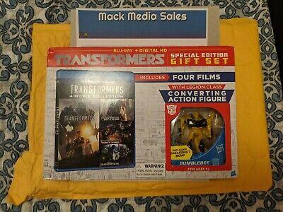 Transformers Blu Ray DVD Movie Box Bundle Lot (4 Disc) - No Digital