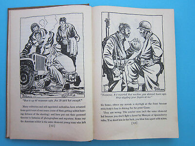 UP FRONT text & pictures by Bill Mauldin 1945 HC clean & tight