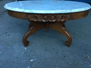 Italian Marble Coffee Table & End tables