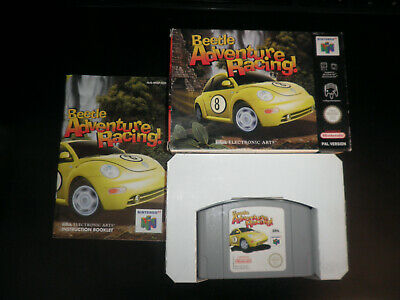 N64 Nintendo 64 - beetle adventure racing - 100%