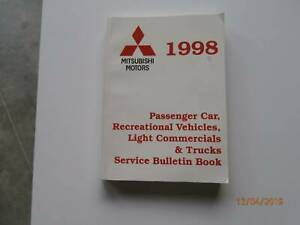 Mitsubishi Service Bulletins 1998 Tarago Goulburn City Preview