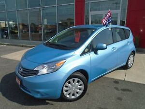 2014 NISSAN VERSA SV PACKAGE CAMERA BLUETOOTH FULL PWR GROUP FIN