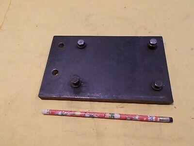 Motor Mounting Plate For Cincinnati No 2 Tool Cutter Grinder Work Head