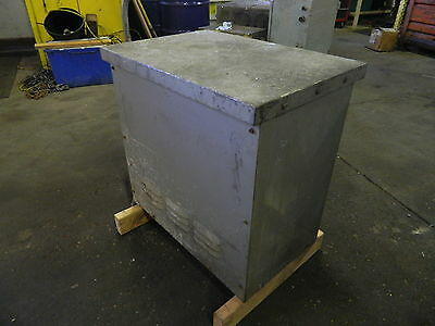 Dongan 25 Kva 3 Ph Transformer 480 To 240 63-4225-a Used Warranty
