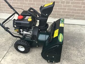 "Like new! Yardworks 208cc OHV 24"" Snowblower"