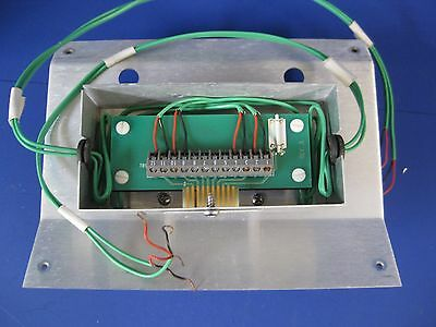 Thermco Tmx Main Furnace Spike Tc Board And Sheetmetal Used
