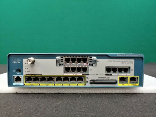 Cisco UC520-16 Small Business Pro Series - UC540W-FXO