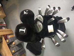Set de golf complet graphite très propre DROITIER