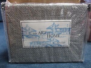 The Art Of Home From Ann Gish Silver Glaze Throw AMAZING!! BEAUTIFUL!!