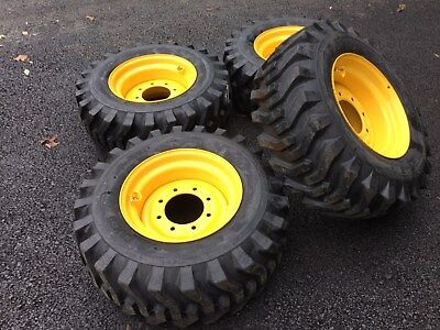 4 New Camso 12x16.5 Tires Rims For New Holland John Deere Gehl Mustang