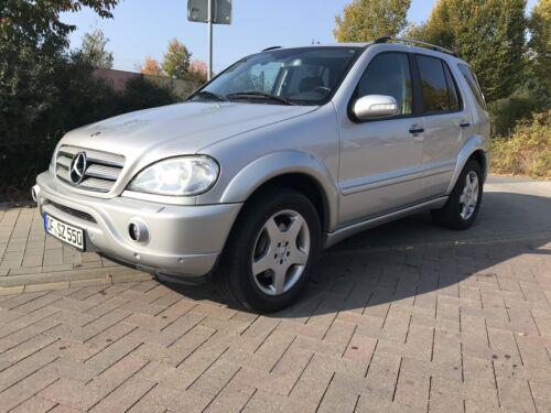 Mercedes-Benz ML55 AMG W163 aus seriösem Vorbesitz ca. 202.300km EZ 11/2003