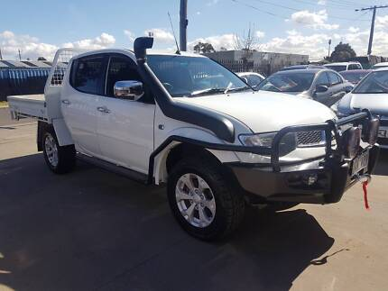 2014 Mitsubishi Triton GLX-R Duel Cab Ute TURBO DIESEL Williamstown North Hobsons Bay Area Preview