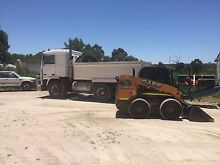 Backyardmiracles. Bobcat and truck hire. Limestone walls installed Clarkson Wanneroo Area Preview