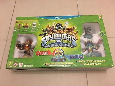Jeu vidéo Skylanders Swap Force Nintendo Wii U neuf